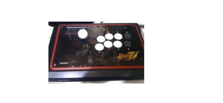 Street Fighter 4 arcade joystick
