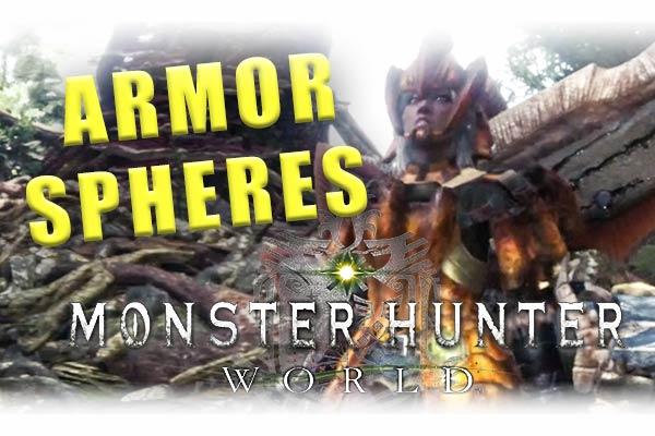 Armor Sphere Monster Hunter World Explained Tuppence Magazine